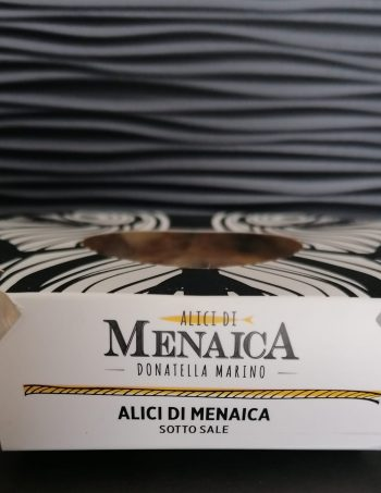 Alici di Menaica Presidio Slow Food 250 gr.