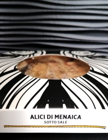 Alici di Menaica sotto sale 100 gr.