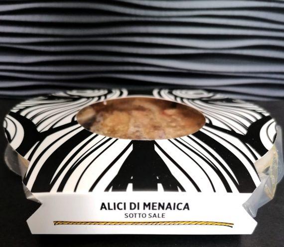 Alici di Menaica sotto sale 100 gr.