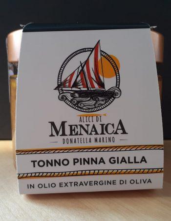Filetti di Tonno Pinna Gialla in olio extravergine di oliva 250 gr.