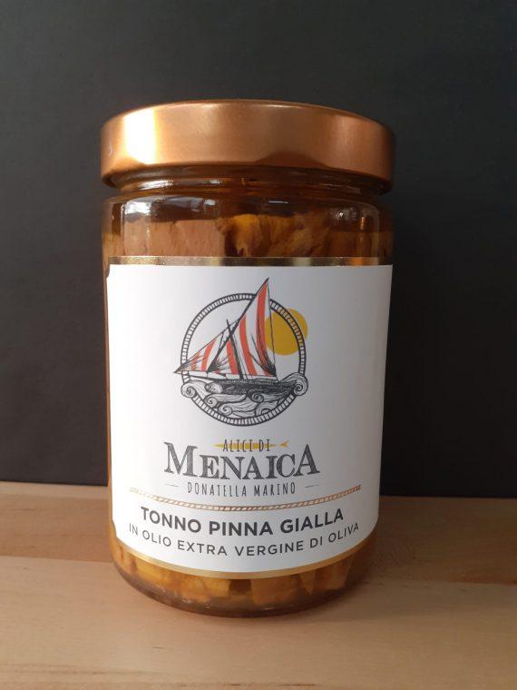 Tonno Pinna Gialla in olio extravergine di oliva 550 gr.