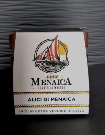 Alici di Menaica in olio extravergine di oliva