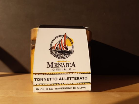 Tonnetto Alletterato in olio extravergine di oliva 250 gr.