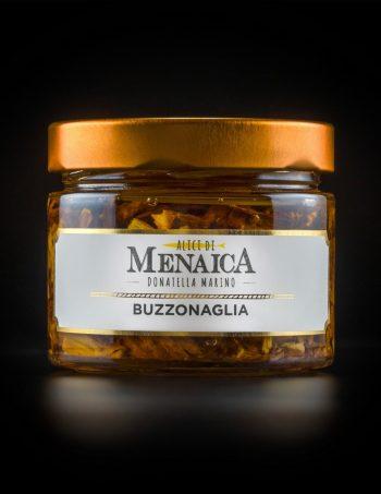 Buzzonaglia di Tonno Alalunga in olio di oliva confezione in vetro da 250 gr.