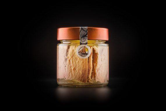 Filetti di Tonno Pinna Gialla al Naturale 220 gr. in vetro