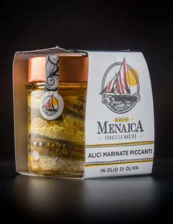 Alici Marinate Piccanti 200 gr.