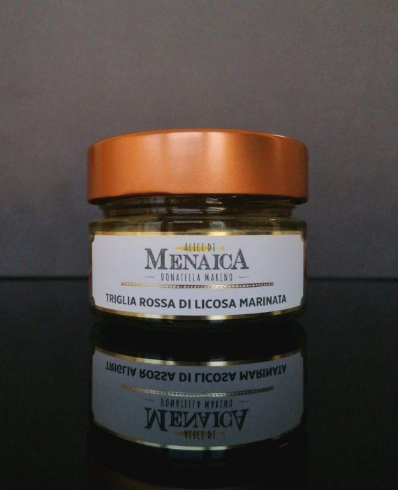 Triglia Rossa di Licosa Marinata 120 gr.